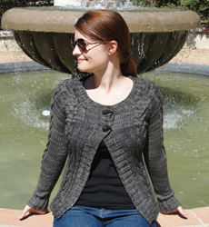 Chandail cardigan