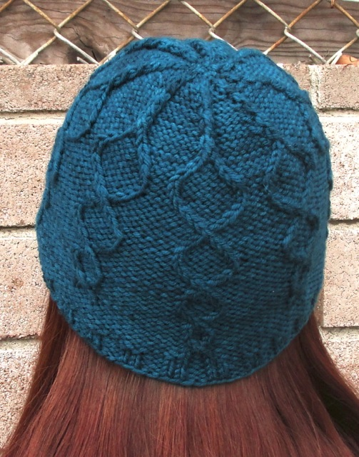Helix hat back view