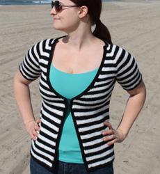 Hipster Stripe Cardigan