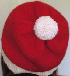 Santa slouch hat