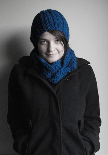 Gifty Hat and Cowl set