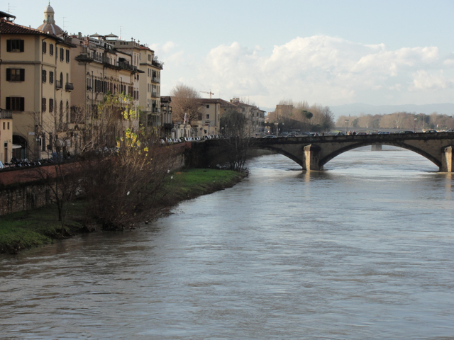 One of the many stunning bridges in Florence