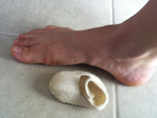 Current foot size