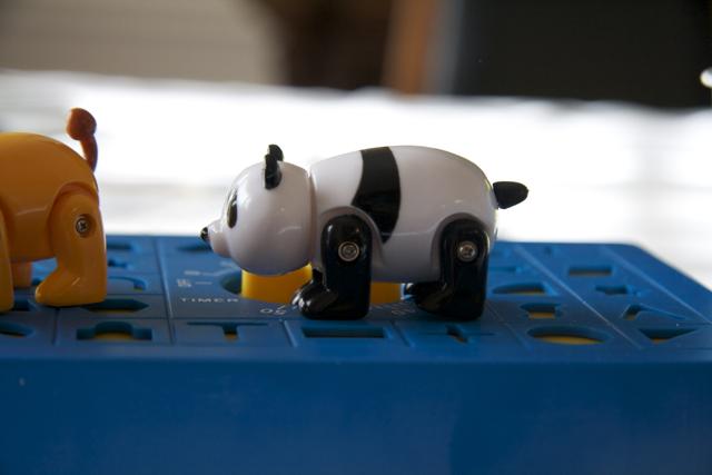 Tiny panda