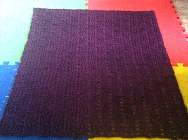 Finished blanket