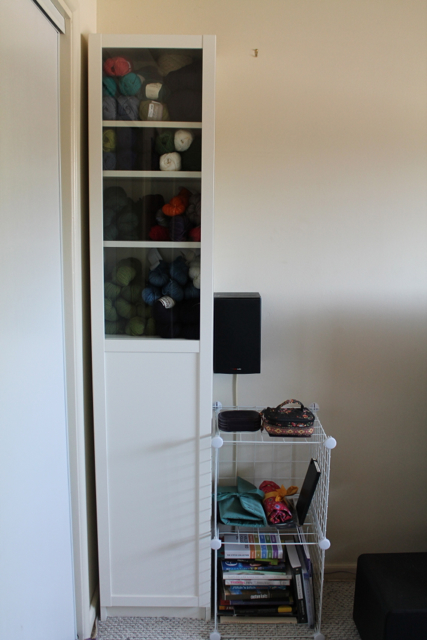 new yarn cabinet