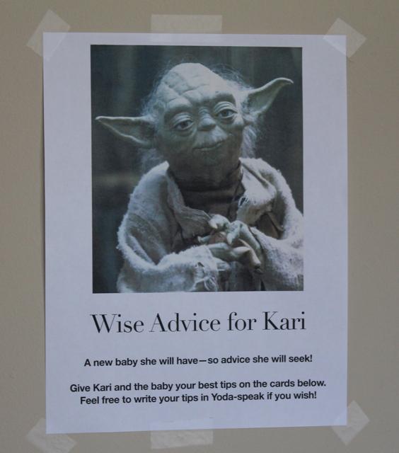 Yoda advice