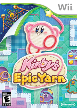 Kirby's Epic Yarn box