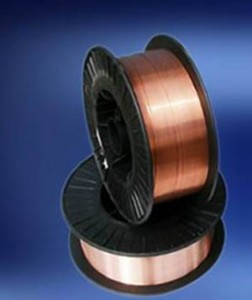 Welding wire in spool