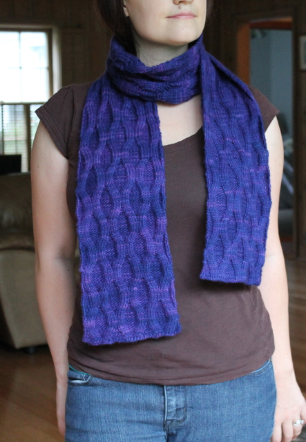 Texture Scarf reverse