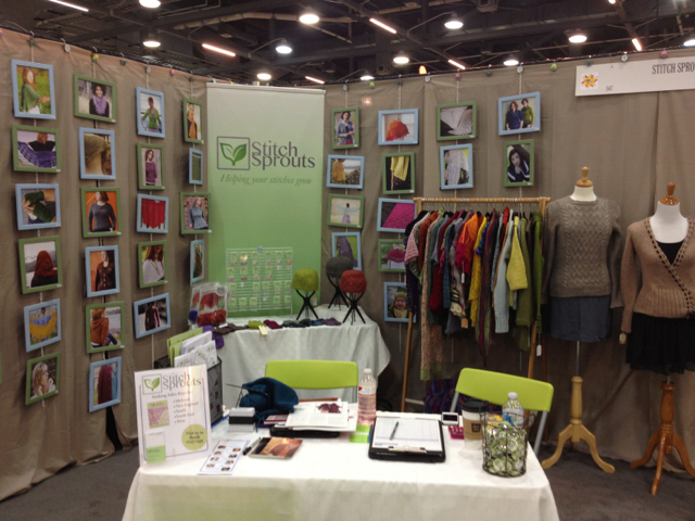Stitch Sprouts TNNA booth