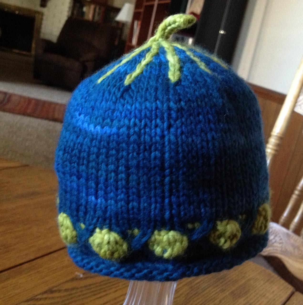 Mal baby hat