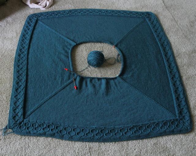 moroccan blanket WIP