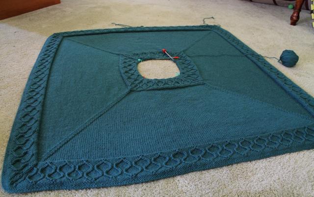 Moroccan blanket WIP3