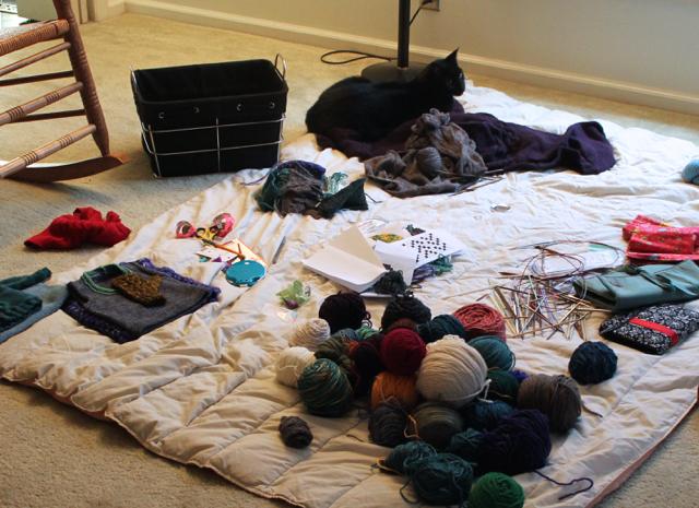 Knitting roundup