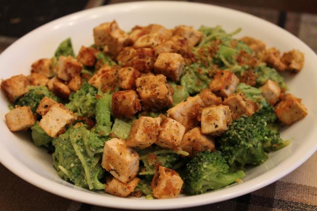 pesto tofu