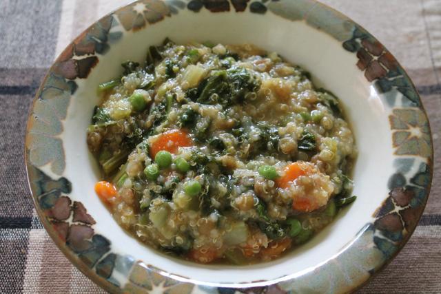 Quinoa kale stew